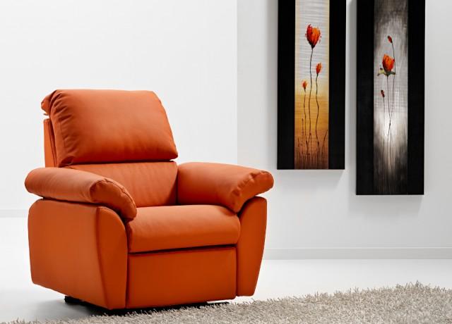Poltrone relax reclinabili manuali
