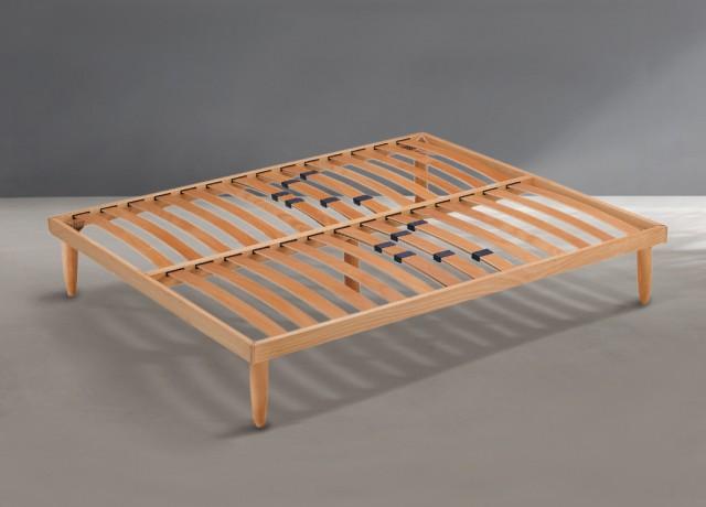 Rete letto doghe in legno
