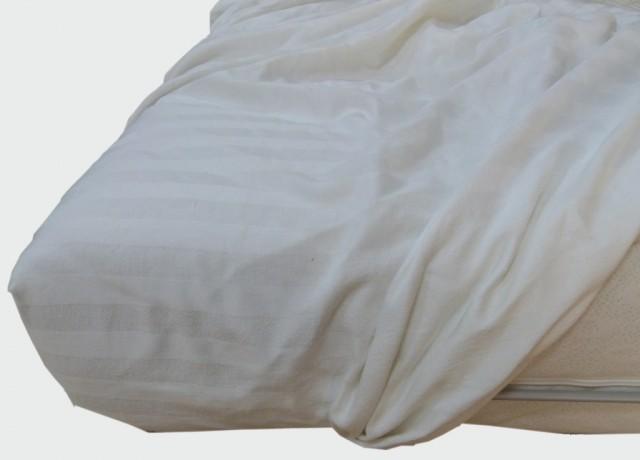 Coprimaterasso cotone sanforizzato