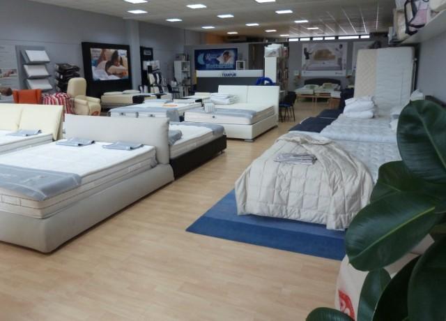 Esposizione materassi Notturnia presso Aliper Rovigo 17-23 febbraio 2014