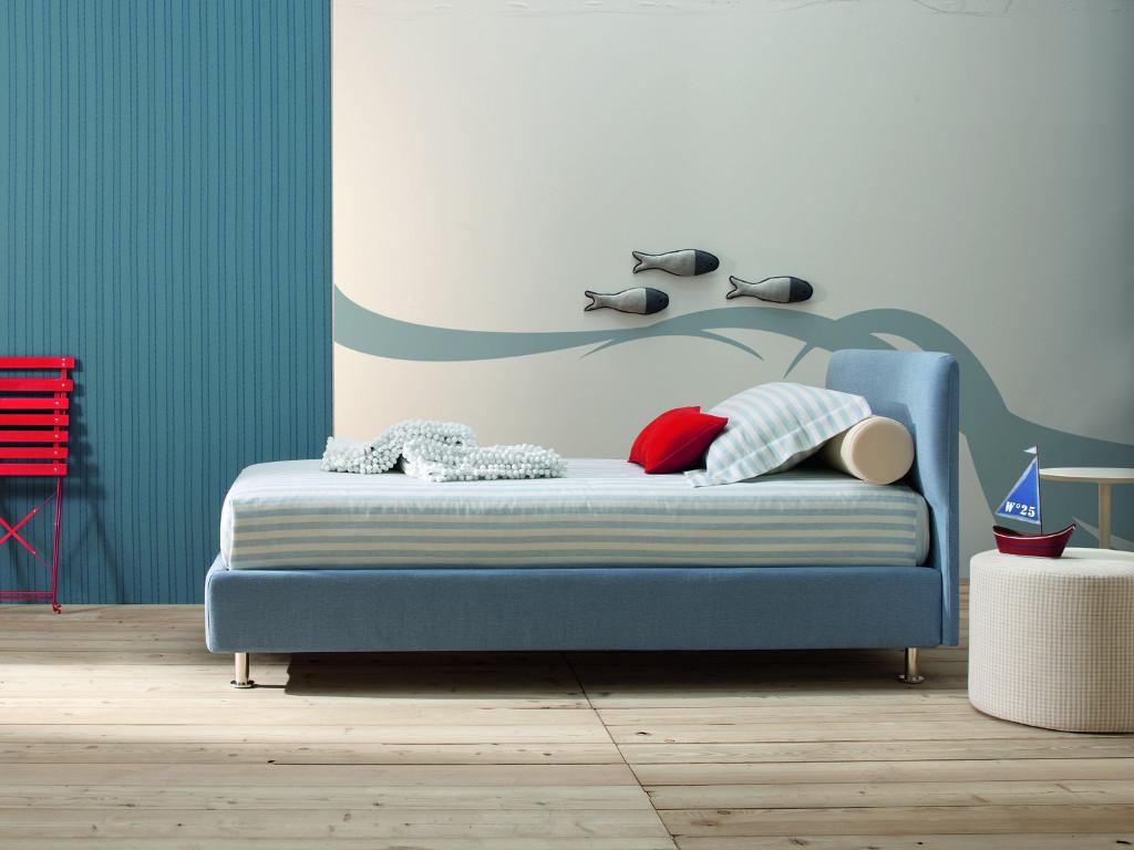 Notturnia base per materasso con contenitore per sistemare la biancheria letto - Materasso per letto contenitore ...