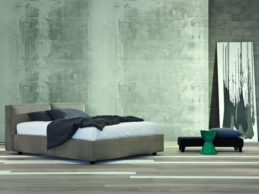 Notturnia base per materasso con contenitore per sistemare - Base per letto matrimoniale ...