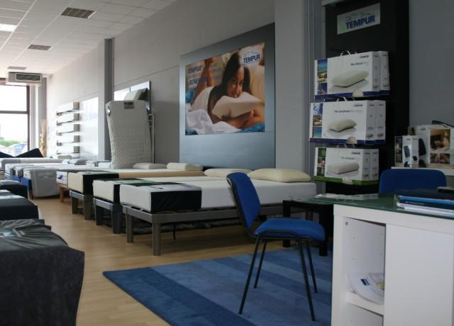 Notturnia Notturnia negozio di sistemi di riposo a Rovigo in esposizione all'Aliper