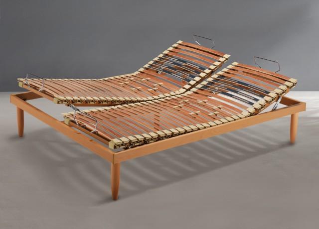Reti doghe in legno Sistem Dorelan manuale