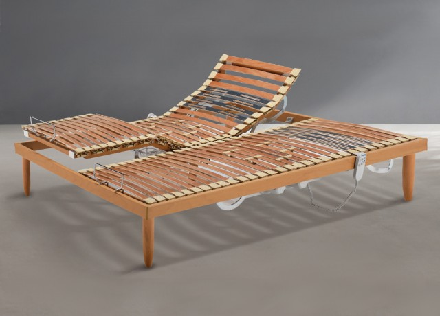 Rete legno Sistem Dorelan motorizzata