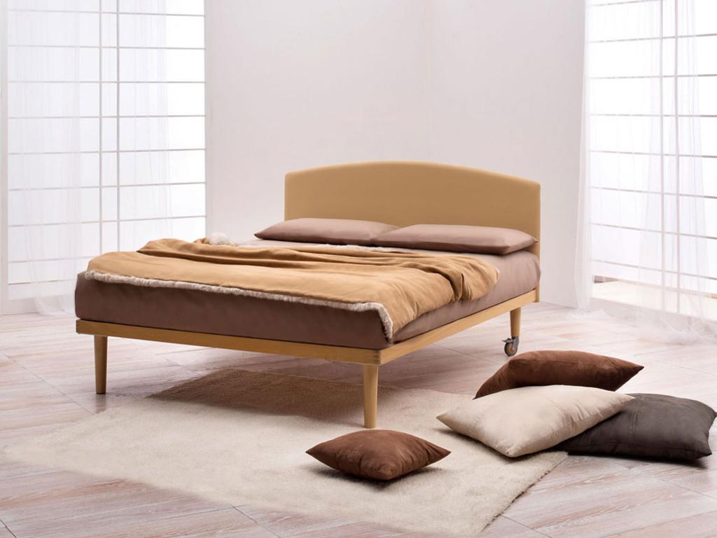 Notturnia testiera letto in legno dorsal simplicity idea - Imbottitura testiera letto ...