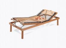 Rete base letto ergonomica legno manuale Soft Idea Riposo matrimoniale
