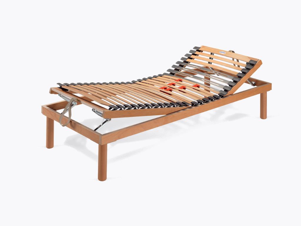 Notturnia rete letto doghe ideariposo soft manuale - Rete letto legno ...