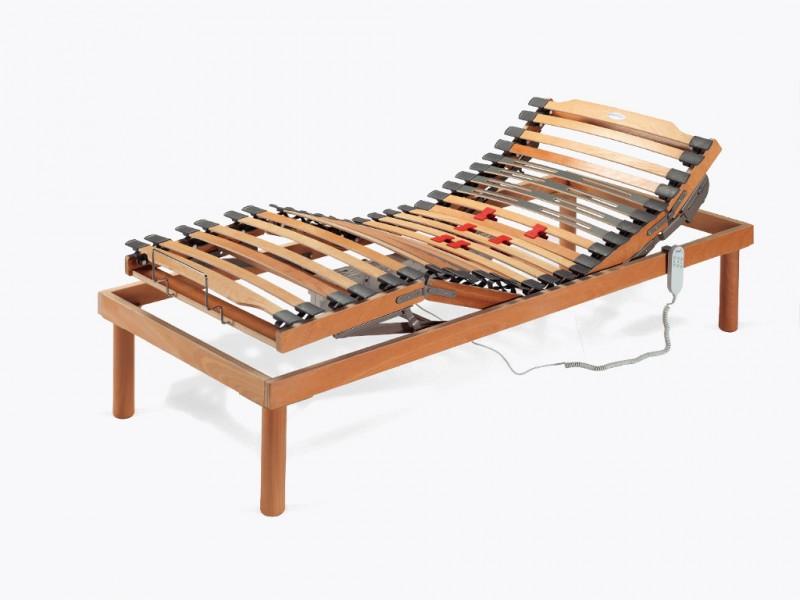 Notturnia rete letto ergonomica motorizzata soft notturnia - Rete letto legno ...
