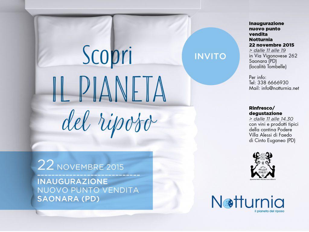 Nuova apertura Notturnia Saonara Padova