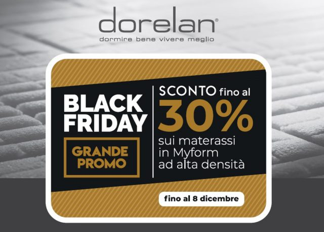Black Friday Dorelan